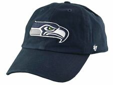 best choice 3b55e 8109d NFL Seattle Seahawks 47 Clean up Adjustable Hat Navy One Size
