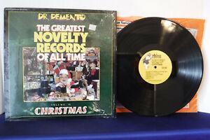 Dr-Demento-The-Greatest-Novelty-Records-Vol-VI-Christmas-Rhino-RNLP-825-1985
