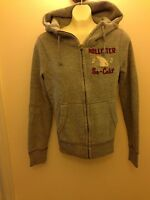 Hollister Co /abercrombie Dudes Hoodies Dockweiler Beach Hgra S, M, L, Grey