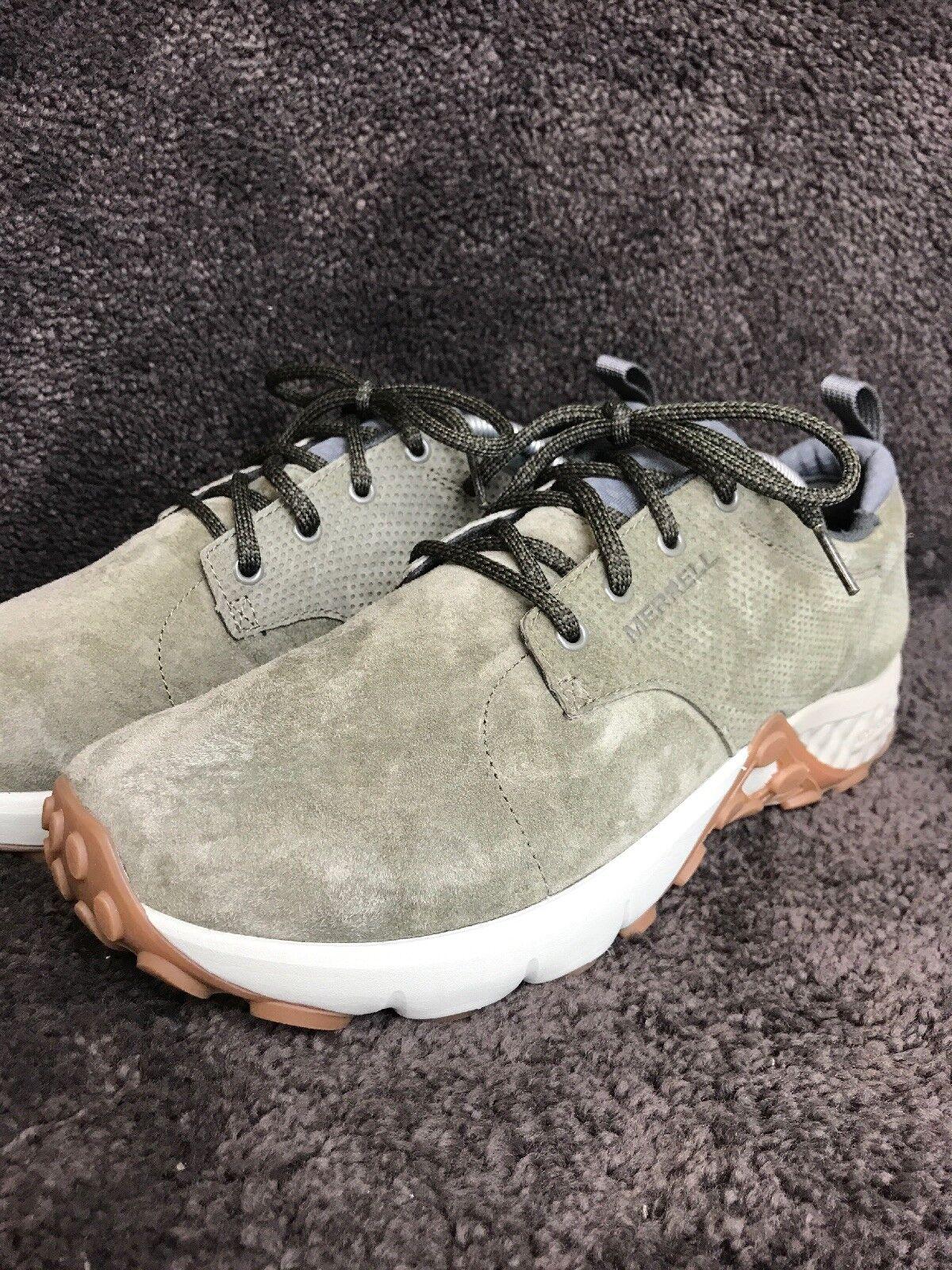 Merrell Men's Dusty Olive Jungle Lace AC+ Hiking shoes Sz 9.5 (J91709) 243