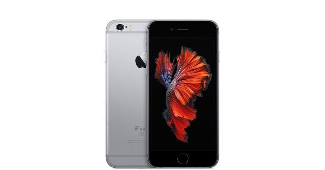 APPLE IPHONE 6S 16GB NERO GRIGIO SIDERALE,GARANZIA,GRADO B