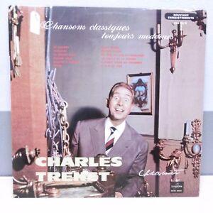 33T-Charles-TRENET-Vinyl-LP-12-034-SONGS-CLASSICAL-TOUJOURS-MODERN-COLUMBIA