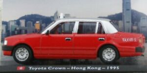 TOYOTA Crown - Hong Kong - 1995 - Taxi Cab - Atlas 1:43