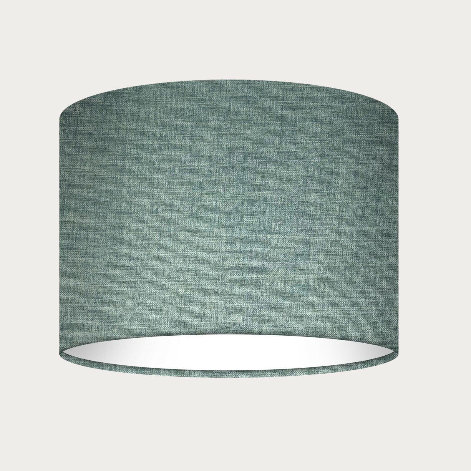 Modern Large 35cm Duck Egg Blue Ceiling Light Pendant Drum Shade Cylinder Lamp For Sale Ebay