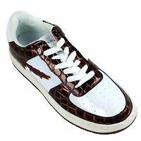 Slicks, 1688-72 Brown-white Men's Athletic Shoes