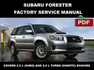 subaru 2003 2004 2005 2006 2007 2008 forester ultimate service rh ebay com 2017 Subaru Forester Interior 2017 Subaru Forester Idiot Lights