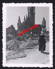 Holland-Nederlande-Kirche-ruinen-Trümmer-wehrmacht-Mädel Trachten kleid 2.wk