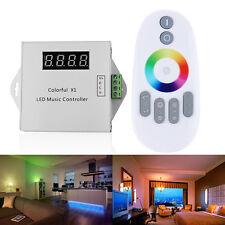 WS2811 6803 LED Digital Music RF Touch Remote Controller 600 Pixels DC12V