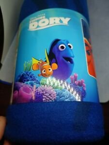 Disney-Finding-Dory-Nemo-Plush-Throw-Blanket-50-034-X-60-034-New-In-Package