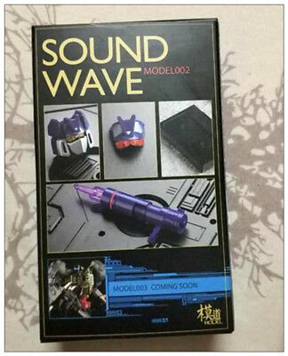 Transformers MODEL-002 MP-13 Masterpiece Sound Wave UPGRADE KIT in Stock