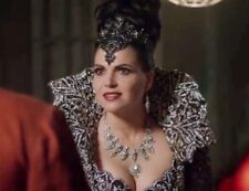 REGINA Evil Queen COSPLAY Once Upon A Time Statement Necklace Jewel Crystal
