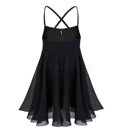 Baby Girl Kids Ballet Dancewear Gymnastic Leotard Dress Tutu Skirt Costume