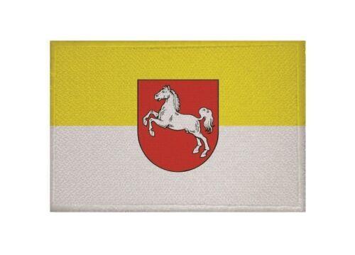 Ricamate Hannover 1952 bandiera bandiera aufbügler Patch 9 x 6 cm