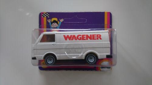 SIKU 1334 VW LT28 WERBEMODELL WAGENER WEISS B4 NEU OVP
