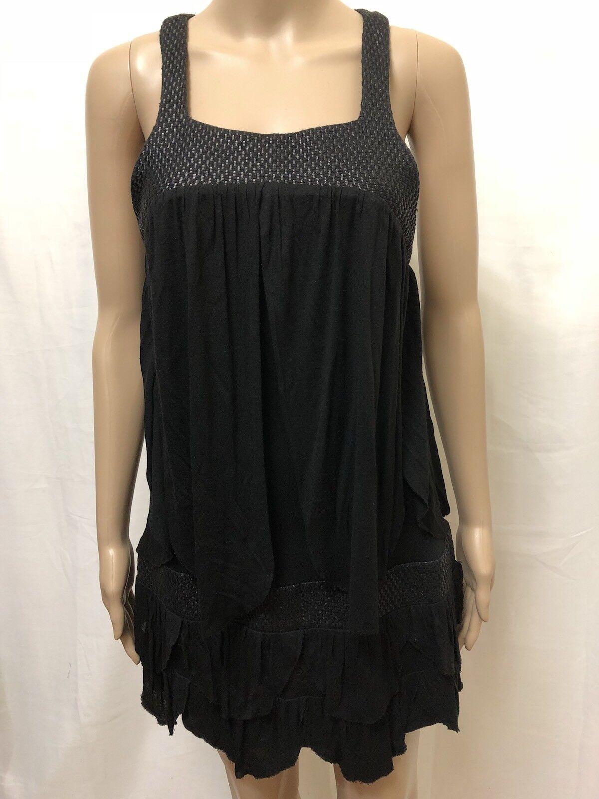 MANNING CARTELL DRESS WOMENS  SIZE 10  EXC COND WOVEN BLEND DESIGN SLEEVELESS