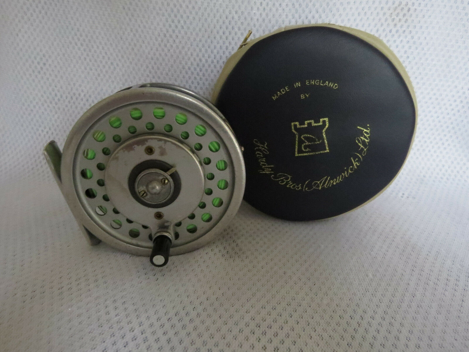 HARDY MARQUIS 7 MULTIPLIER REEL IN HARDY   POUCH  100% authentic