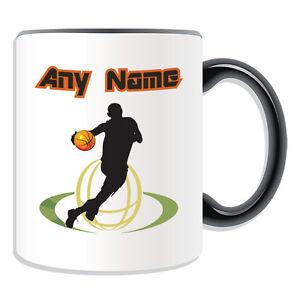Details about Personalised Gift Basketball Mug Money Box NBA Backboard Slam Dunk Sport Cup Tea