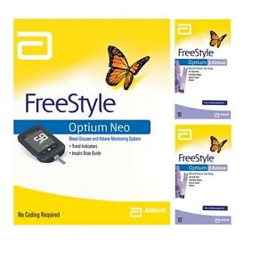 Abbott Freestyle Optium Neo Monitor Amp 2x Optium Blood 223