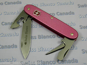 Swiss Bianco Exclusive Pioneer Soldier Rose Pink Alox
