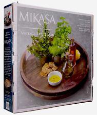 Mikasa Lazy Susan Vintage Lazy Susan Rotating Tray 17 1 2 Sustain Mango Wood For Sale Online Ebay