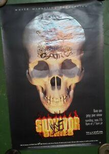 1998-WWF-Survivor-Series-PPV-Poster-Original-39x27