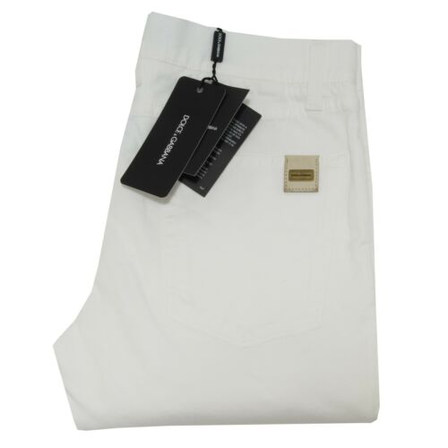 4228I pantaloni uomo DOLCE /& GABBANA D/&G 16 green trousers pants men