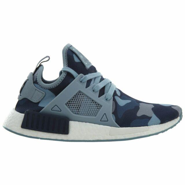 Adidas NMD XR1 Duck Camo Womens BA7754 Midnight Grey Blue Running Shoes Size 9.5