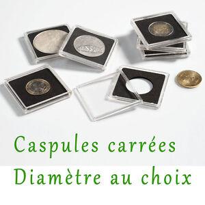 1-Capsule-Quadrum-pour-Piece-de-Monnaie-diametre-au-choix-14-a-41-millimetres