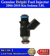 ReMan Set of 6 Genuine Delphi Fuel Injectors For 2007-2009 Kia Sorento 3.8L 3.3L