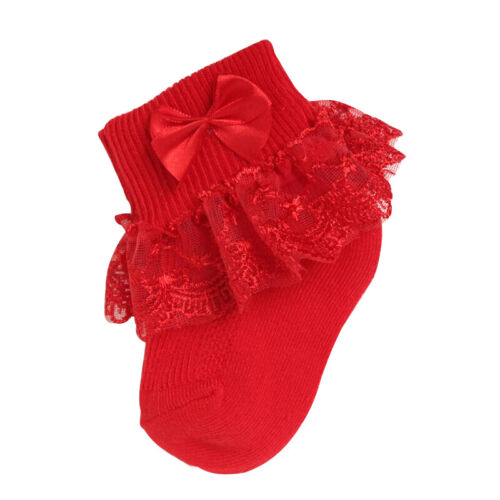 Fashion Baby Girls Cotton Summer Ruffles Socks Set for Newborn Infant Toddlers