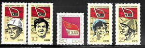 GERMANY-DDR-SC-1301-1305-MINT-NO-HINGE