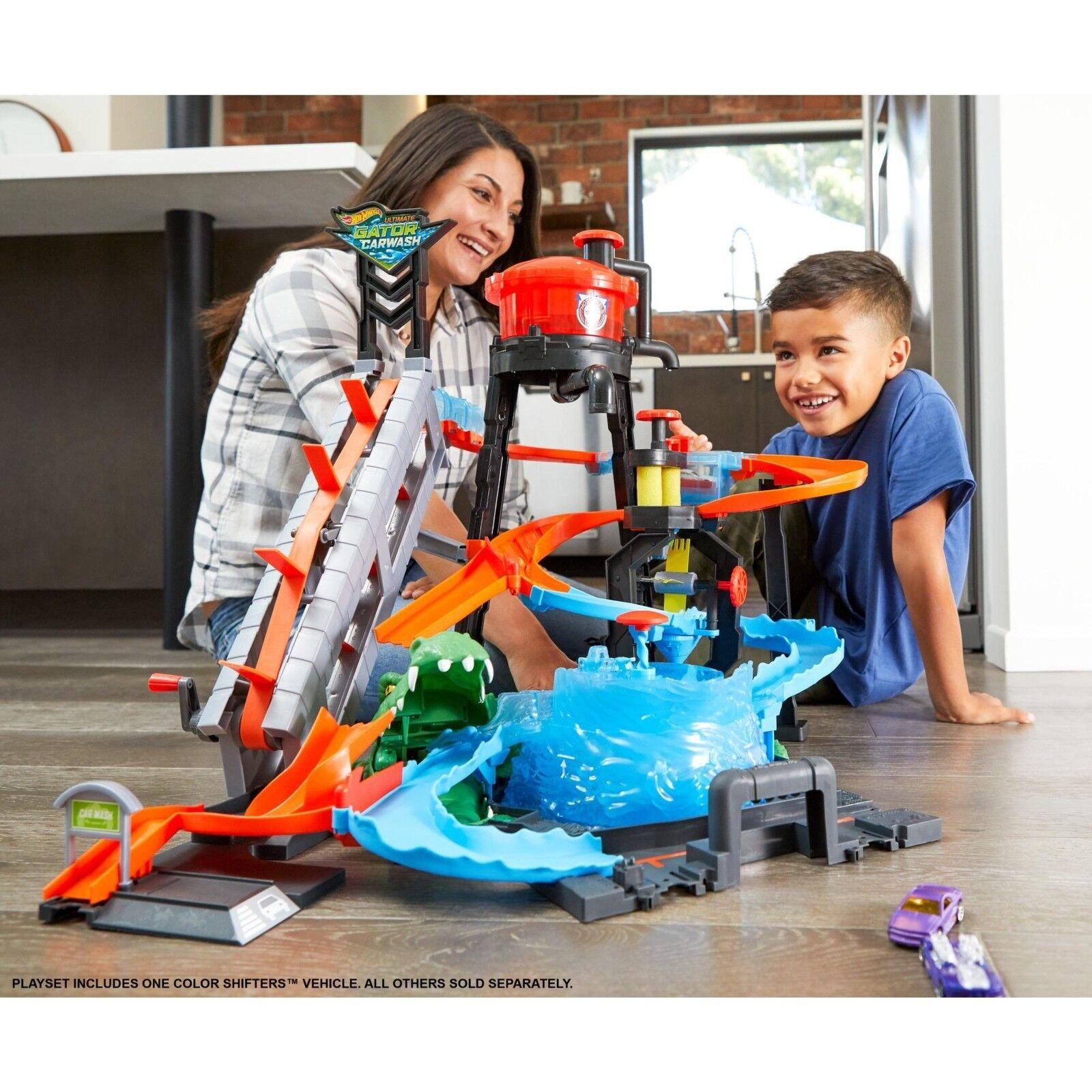 HOT  Wtalons Ultimate Gator Lavage Voiture Enfants Play Set with Couleur Shifters voiture  haute qualité authentique