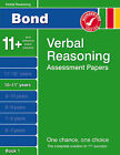 Bond Fourth Papers in Verbal Reasoning 10-11+ Years by J. M. Bond (Pamphlet, 2007)