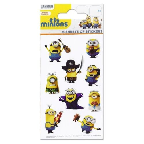 MINIONS Despicable Me! Colouring Stickers Activity Books Kids Party Gift Xmas