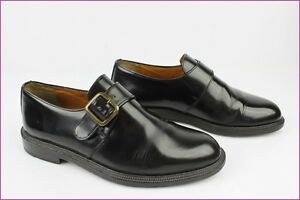 Ted Leather Tbe Derby Iced Lapidus 40 Blake Sewn All T Buckles Black 54xwa