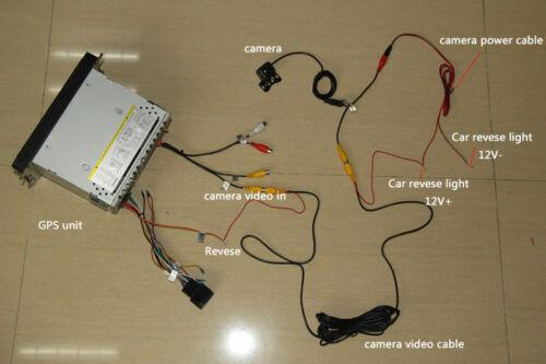 Auto Rückfahrkamera CCD für Mitsubishi Outlander Citroen C-Crosser Peugeot 4007