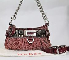 Genuine Guess designer Ladies Small red Shoulder cross body G Logo with dust bag