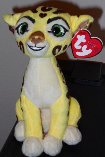 Ty Beanie Baby NEW MWMT Disney The Lion Guard FULI the Cheetah 6 Inch