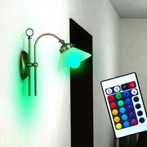 LED-RVB-LA-VIE-Chambre-Lumiere-murale-Telecommande-interrupteur-a-tire-variateur
