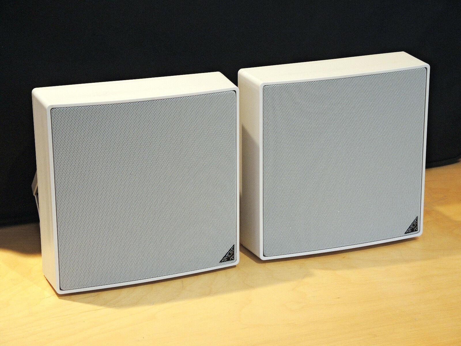 Ecler AMBIT 106 - passive 2-Wege Lautsprecher 8Ω 100V umschaltbar   Paar weiß