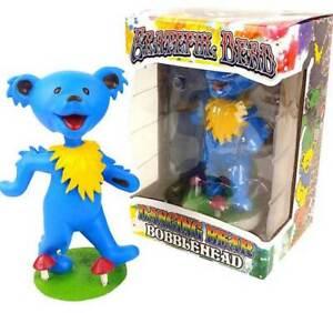 GRATEFUL-DEAD-BLUE-DANCING-BEAR-KOLLECTICO-BOBBLE-HEAD-BRAND-NEW-DB6B