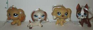 Littlest-Pet-Shop-4-Puppies-Dogs-Artesian-Ornaments