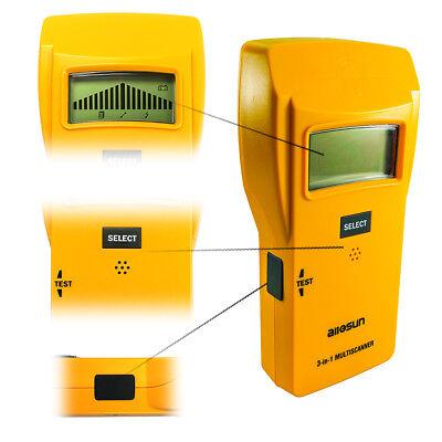 Wood Stud Finder Digital Wall Scanner 3 in 1 Metal Detector AC Wire Pinpointer