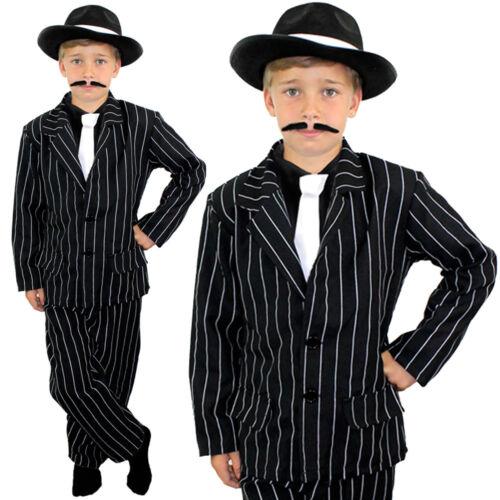 Child Costume da gangster ragazzi ANNI 1920 Costume Teatro Spettacolo produzione