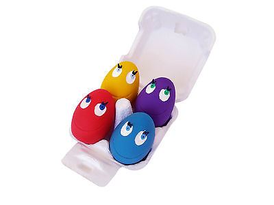 Christmas LANCO 100% Natural Rubber Baby Child Eggs Sensory Fidget Toy Set
