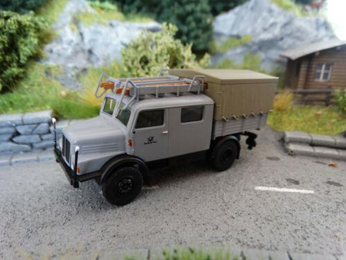 H0 Brekina 71750 IFA S4000-1 Bautruppwagen Deutsche Post Neuware OVP