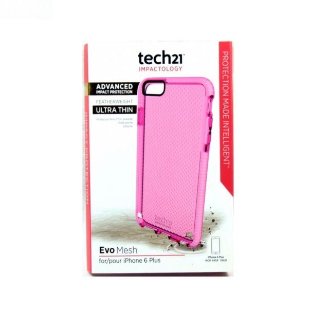 TECH21 CASE FOR IPHONE 6S PLUS 6 PLUS EVO MESH ADVANCED IMPACT *BADBOX* T21-5017
