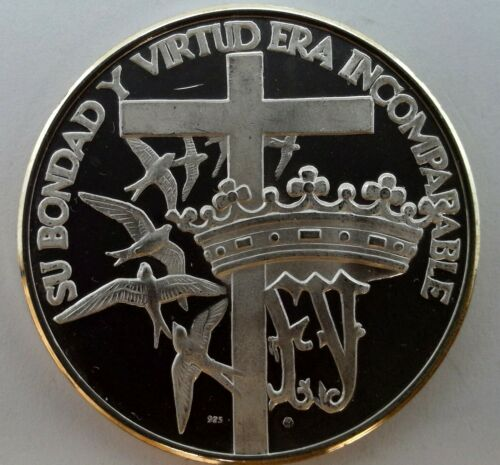 DOMINICAN REPUBLIC CACIQUE DE MARIEN GUACANAGARIX STERLING SILVER COIN #99