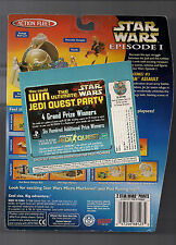 STAR WARS Episode 1 Action Fleet mini scene RARE Alternate! Jedi Quest Party