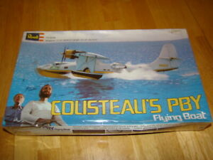1976-Revell-Cousteau-039-s-PBY-Flying-Boat-1-72-Scale-Sealed-in-Box-H-576